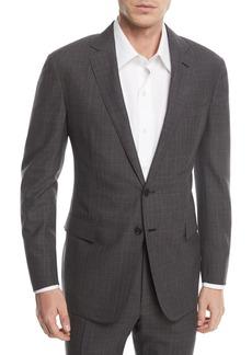 Ralph Lauren Two-Piece Glen Plaid Wool Suit