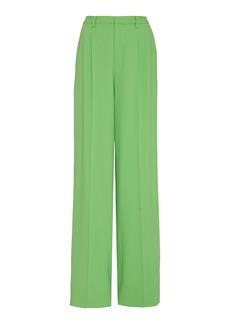 Ralph Lauren Winnifred Wool-Blend High-Rise Wide-Leg Pants