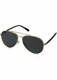 Ralph Lauren Women's RL7058 Metal Aviator Sunglasses