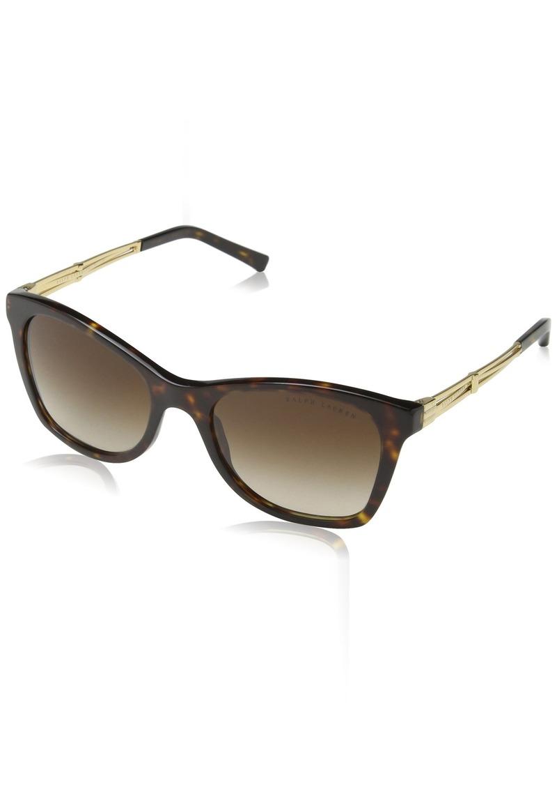 Ralph Lauren Women's RL8113 Rectangular Sunglasses  54 mm