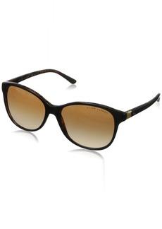 Ralph Lauren Women's RL8070 Cat Eye Sunglasses  56 mm