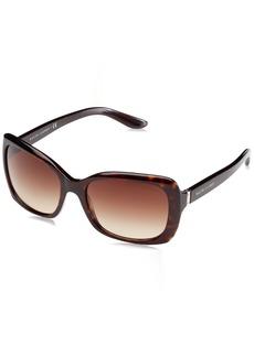 Ralph Lauren Women's RL8134 Square Sunglasses dark havana
