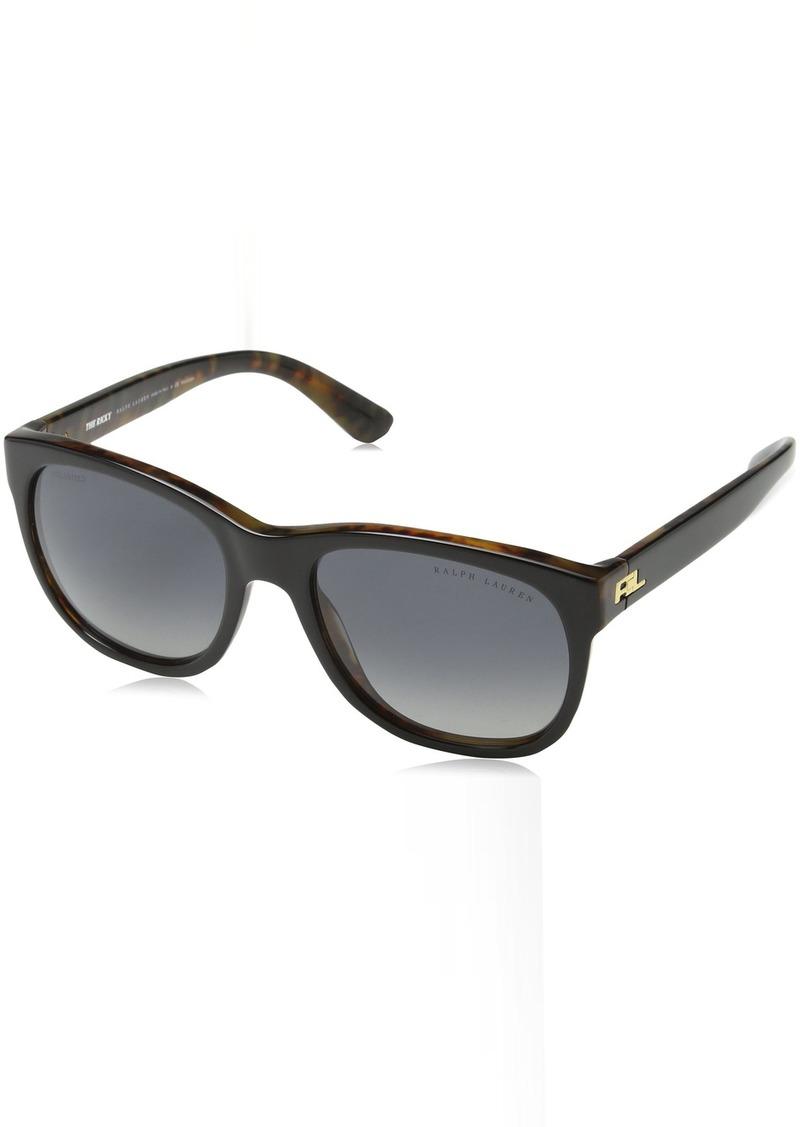 Ralph Lauren Women's RL8141 Square Sunglasses  56 mm