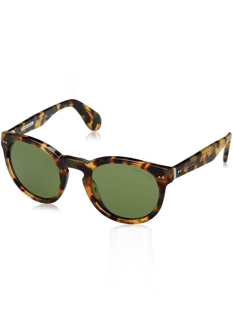 Ralph Lauren Women's RL8146P Round Sunglasses  49 mm