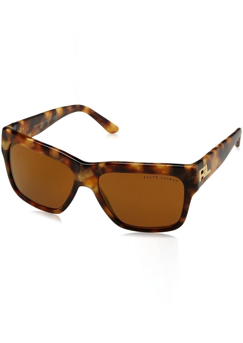 Ralph Lauren Women's RL8154 Square Sunglasses