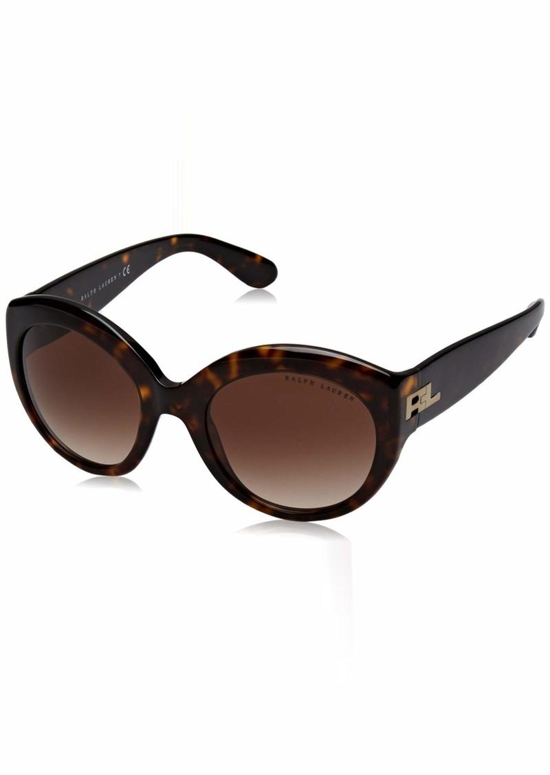 Ralph Lauren Women's RL8159 Round Sunglasses  53 mm