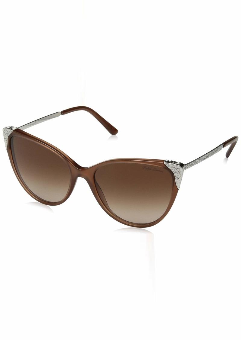 Ralph Lauren Women's RL8172 Cat Eye Sunglasses