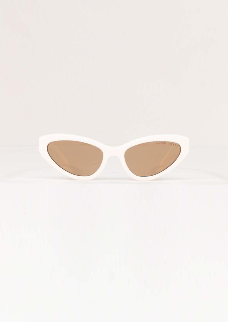 Ralph Lauren Women's RL8176 Cat-Eye Sunglasses Non Polarized