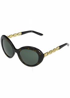 Ralph Lauren Women's RL8183 Oval Sunglasses