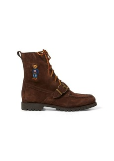 Ralph Lauren Ranger Polo Bear Suede Boot