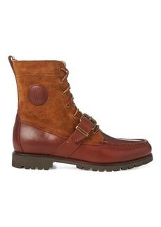 Ralph Lauren Ranger Saddle-Suede Boot