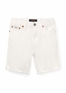 Ralph Lauren Raw Edge Denim Shorts  Size 2-4