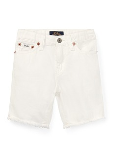 Ralph Lauren Raw Edge Denim Shorts  Size 5-7