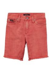 Ralph Lauren Raw-Hem Denim Shorts  Size 5-7