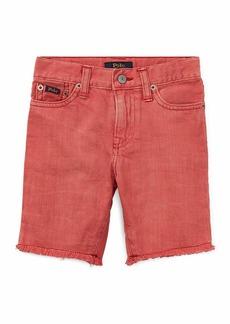 Ralph Lauren Raw-Hem Denim Shorts  Size 2-4