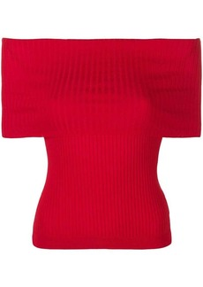 Ralph Lauren off-shoulder ribbed top