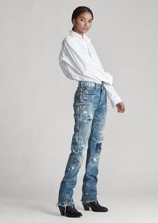 Ralph Lauren Reede High-Rise Straight Jean