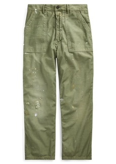 Ralph Lauren Relaxed Fit Distressed Pant