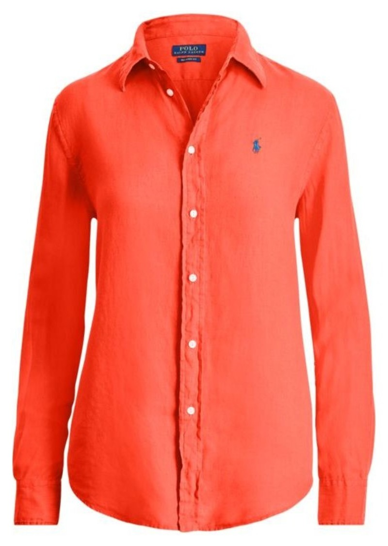 5a3391ce650 Ralph Lauren Relaxed Fit Linen Shirt