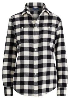 Ralph Lauren Relaxed Fit Plaid Twill Shirt