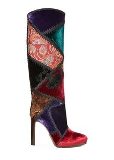 Ralph Lauren Remmy III Patchwork Boot