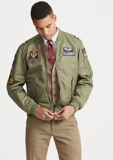 Ralph Lauren Reversible Bomber Jacket