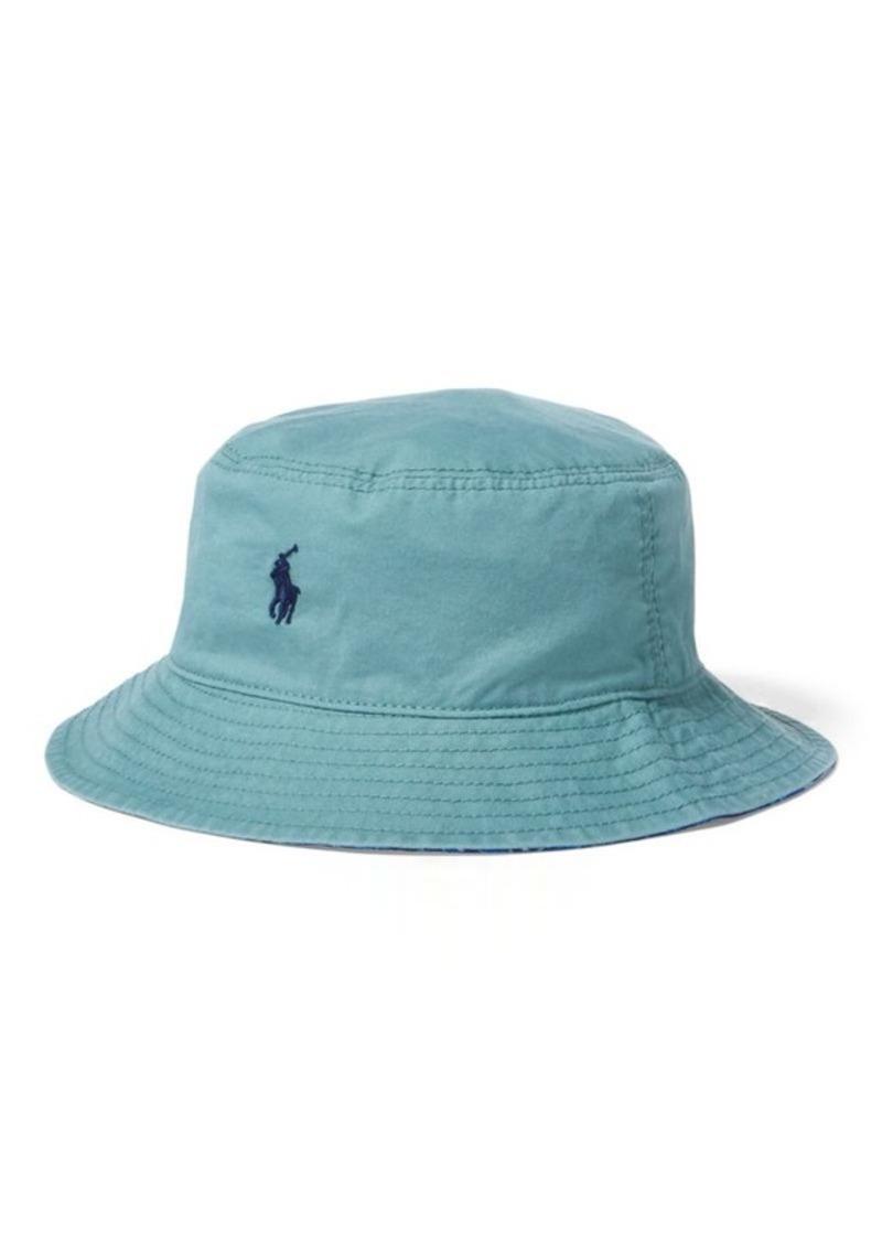 c13cc5ab859 Ralph Lauren Reversible Chino Bucket Hat