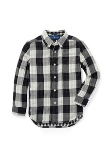 Ralph Lauren Reversible Plaid Cotton Shirt