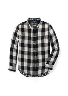 Ralph Lauren Reversible Plaid Cotton Shirt