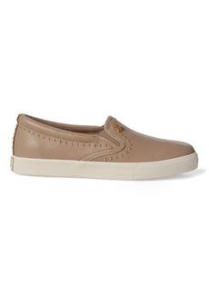 Ralph Lauren Ria II Leather Sneaker