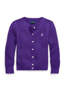 Ralph Lauren Rib-Knit Cotton Cardigan
