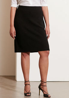 Rib-Knit Merino Skirt