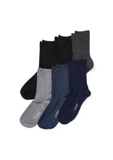 Ralph Lauren Rib-Knit Sock 6-Pack