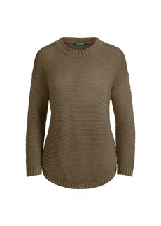 Ralph Lauren Ribbed Crewneck Sweater