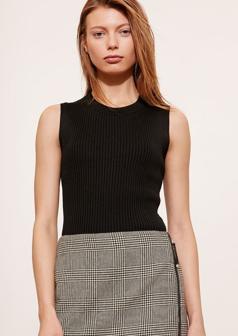 Ralph Lauren Ribbed Sleeveless Sweater