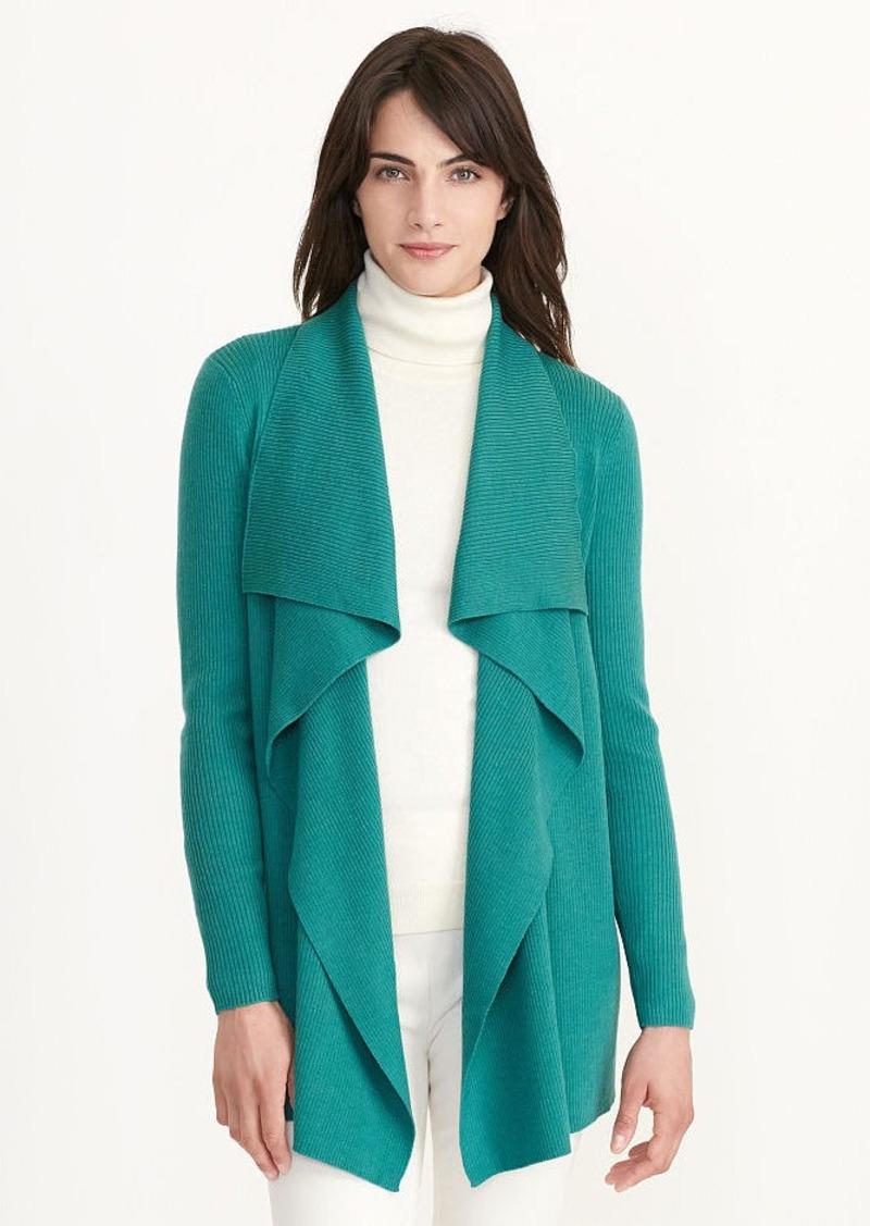 Ralph Lauren Ribbed Wool Cardigan