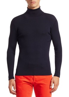 Ralph Lauren RLX Ribbed Wool Turtleneck