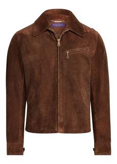 Ralph Lauren Richland Suede Newsboy Jacket