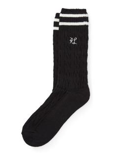 Ralph Lauren RL Cable Boot Socks