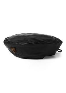 Ralph Lauren RL Leather Beret