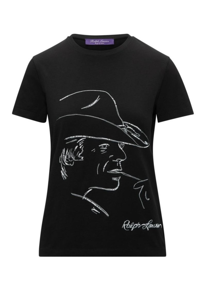 Ralph Lauren RL Portrait Graphic T-Shirt