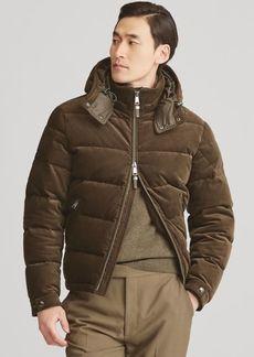 Ralph Lauren RLX Corduroy Down Coat