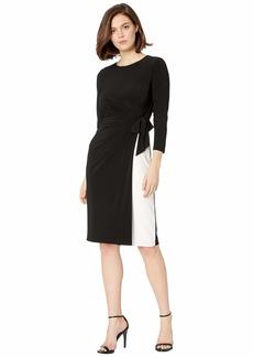 Ralph Lauren Robbyann Matte Jersey Day Dress
