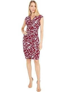 Ralph Lauren Rodya Cap Sleeve Day Dress