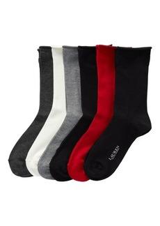 Ralph Lauren Roll-Top Sock 6-Pack
