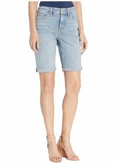 Ralph Lauren Rolled-Cuff Denim Bermuda Shorts