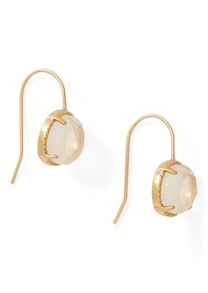 Ralph Lauren Round Quartz Drop Earrings