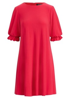Ralph Lauren Ruffle-Sleeve Dress