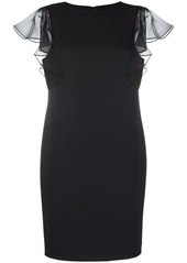 Ralph Lauren ruffle-sleeve dress