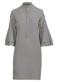 Ralph Lauren Ruffle-Sleeve Shift Dress